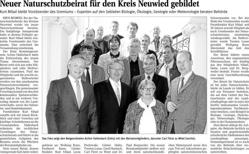 Rhein-Zeitung 17.06.2010