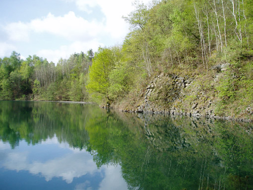 Wanderung Wahler Bach, Bennauer See