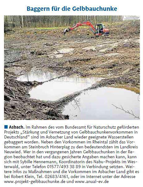 Rhein-Zeitung vom 6.3.2015