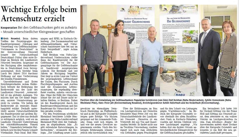 Rhein-Zeitung vom 18.3.2015