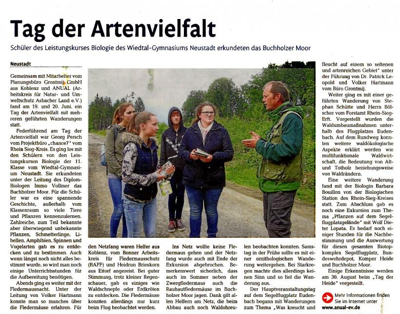 Rhein-Zeitung vom 17.7.2015