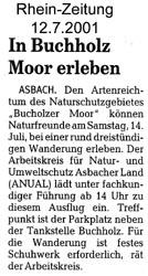 Rhein-Zeitung 12.7.2001