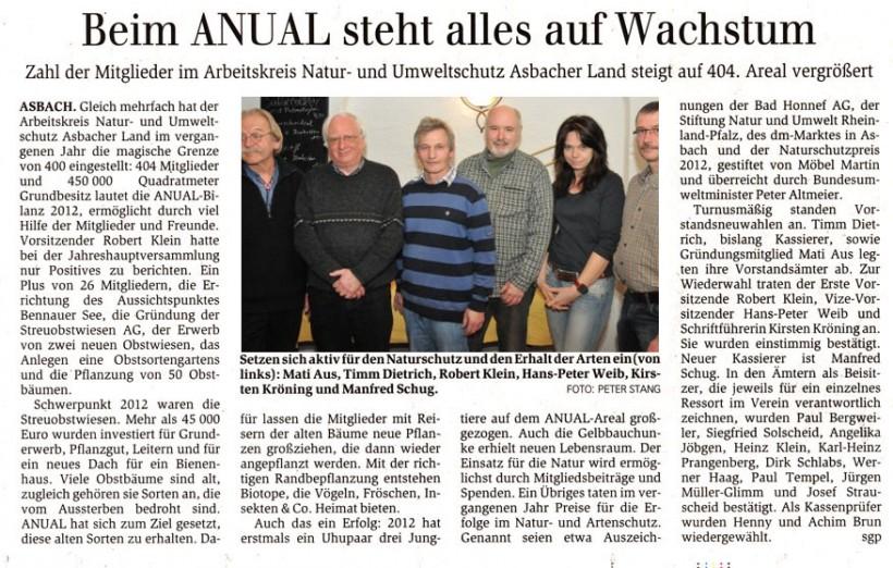 General-Anzeiger 19.03.2013