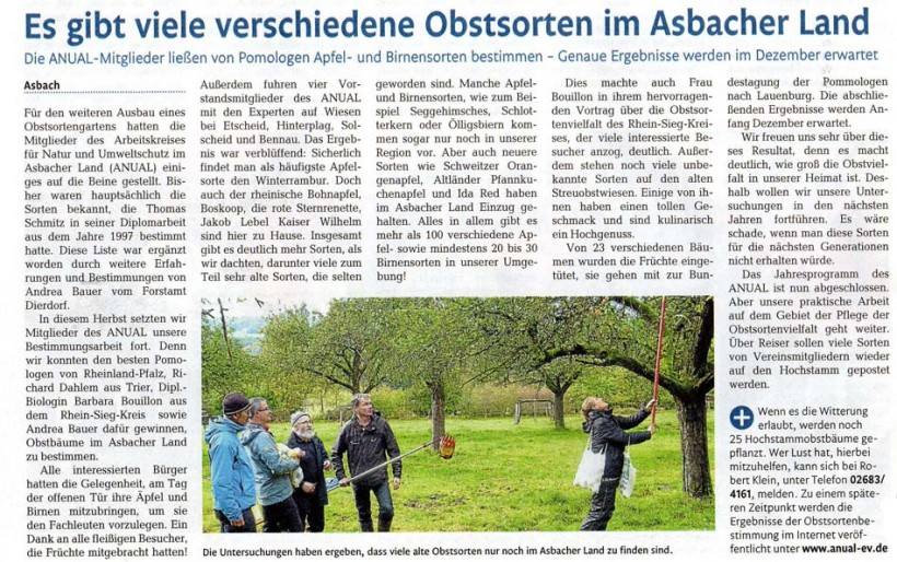Rhein-Zeitung 15.11.2013