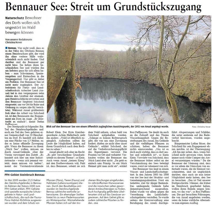 Rhein-Zeitung 20.03.2014