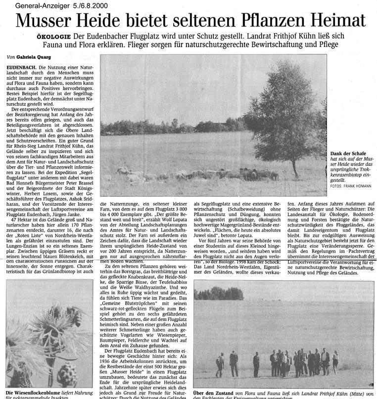 General-Anzeiger 5./6.8.2000