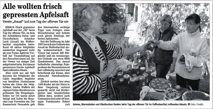 Rhein-Zeitung 19.10.2005