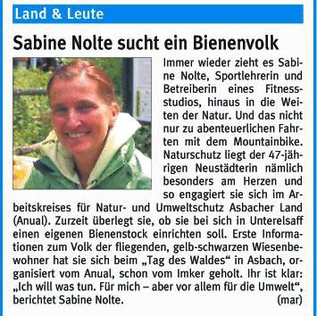Rhein-Zeitung 12.7.2008