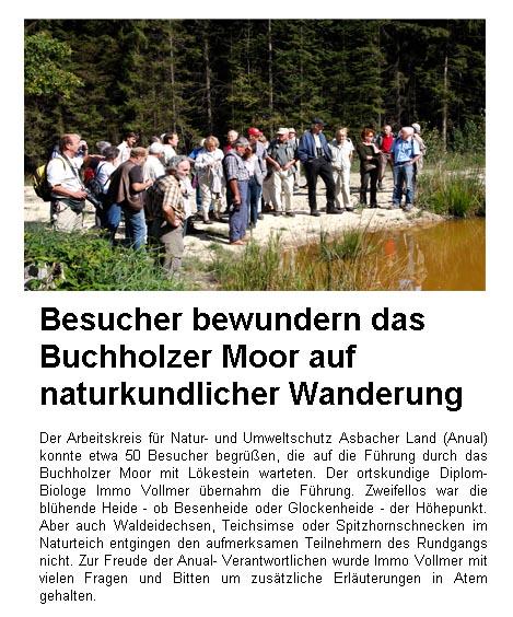 Rhein-Zeitung 5.9.2009