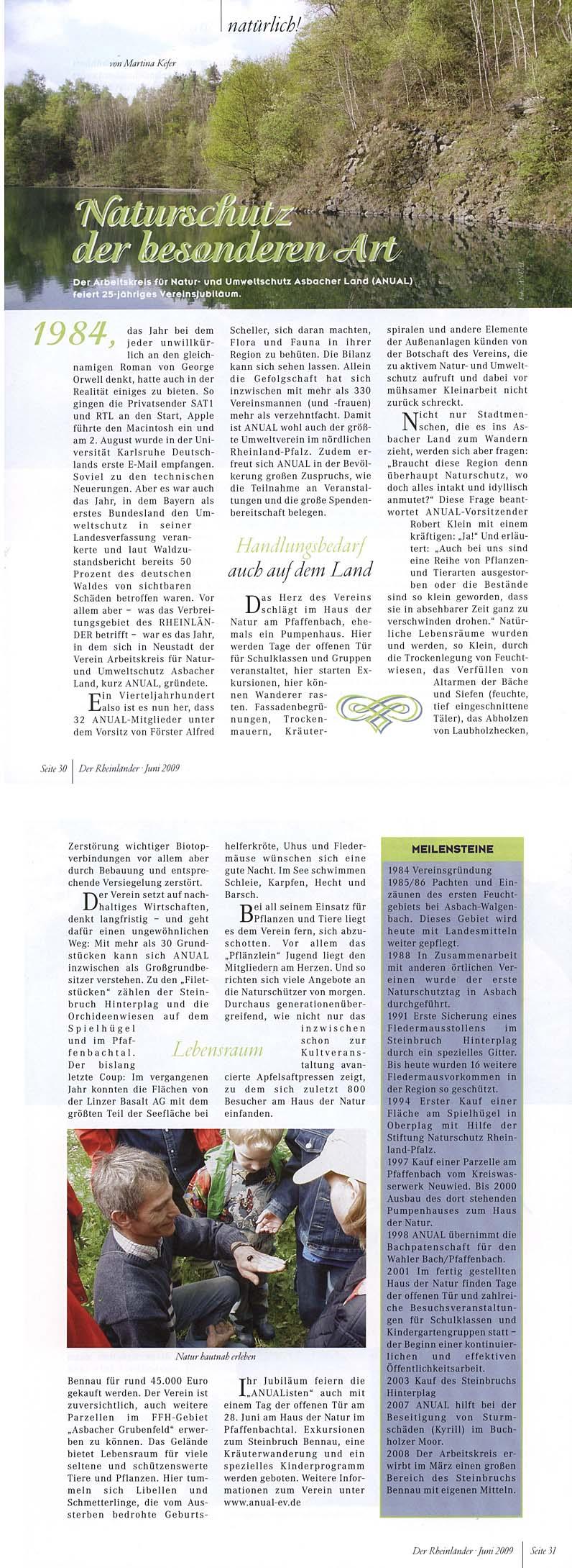 Der Rheinländer – Juni 2009