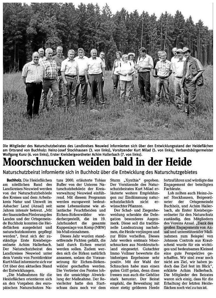 Rhein-Zeitung 03.09.2010