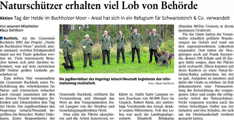 Rhein-Zeitung 13.9.2011