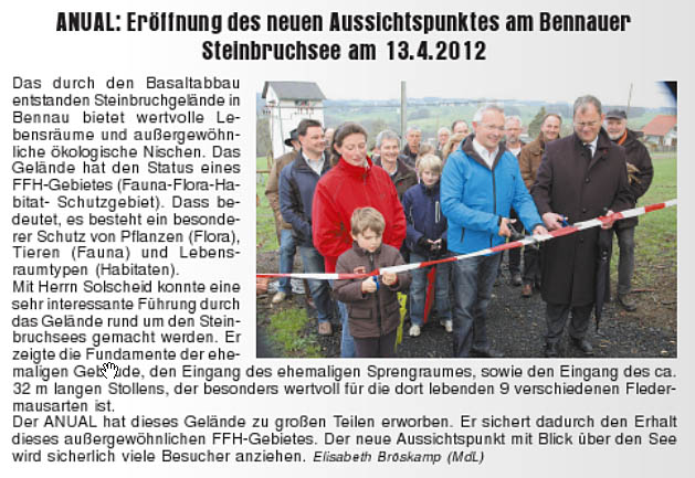 Journal am Sonntag 22.04.2012