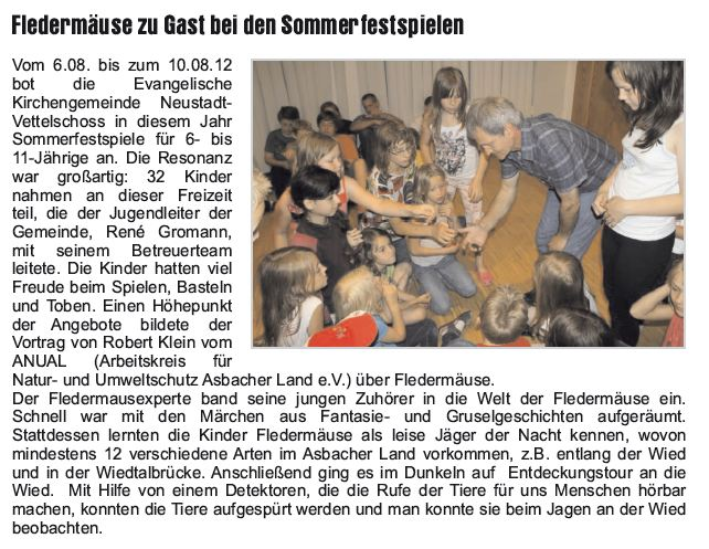 Journal am Sonntag 26.08.2012