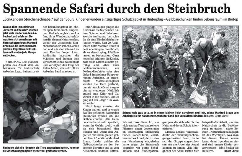 Rhein-Zeitung 6.6.2006