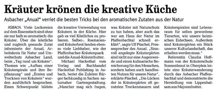 Rhein-Zeitung 1.7.2006
