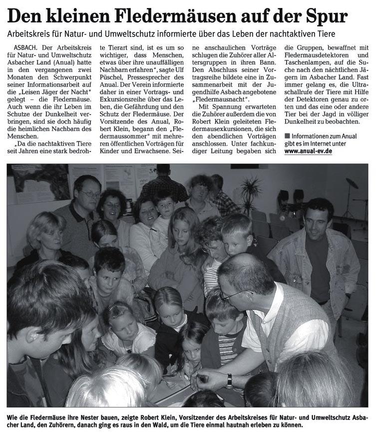Rhein-Zeitung 23.09.2006