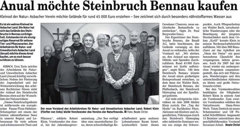 Rhein-Zeitung 12.3.2007