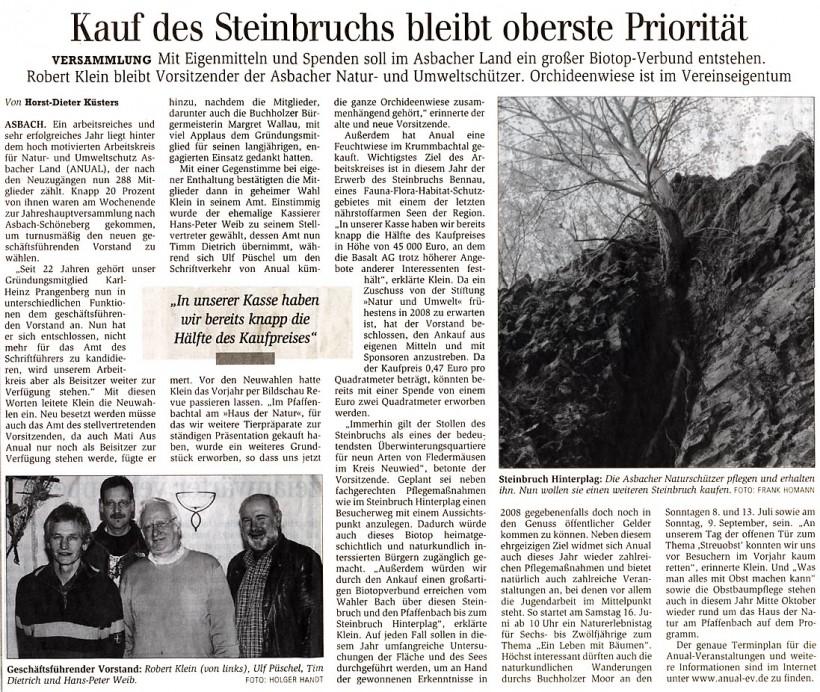 General-Anzeiger 13.3.2007