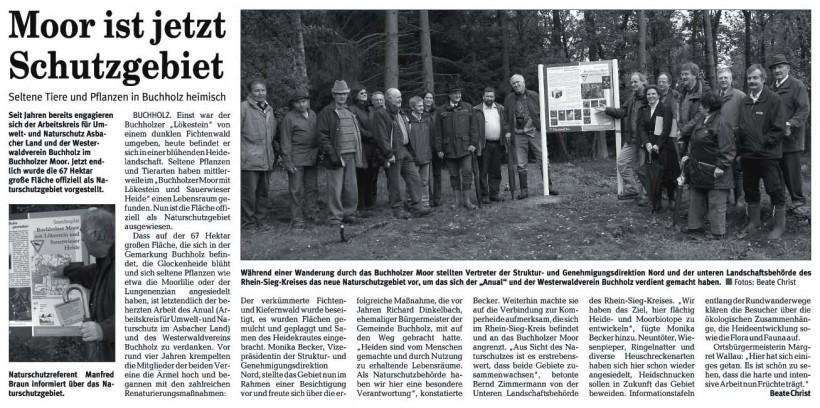 Rhein-Zeitung 28.9.2007