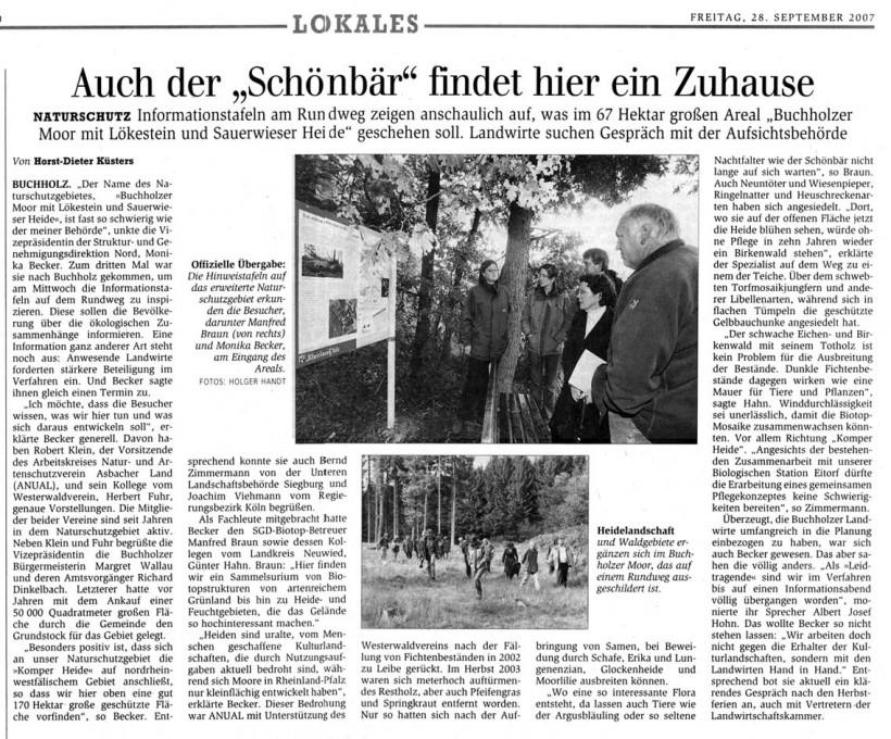 General-Anzeiger 28.9.2007