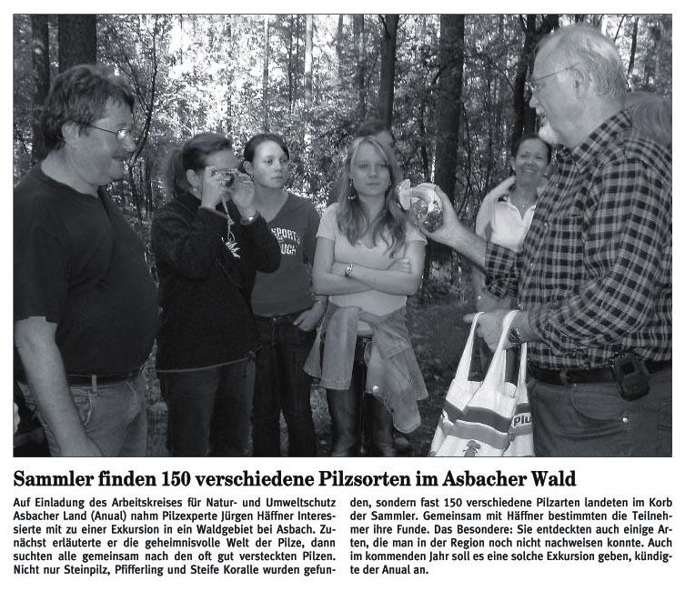 Rhein-Zeitung 12.10.2007