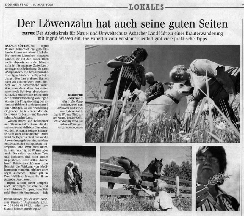 General-Anzeiger 15.5.2008
