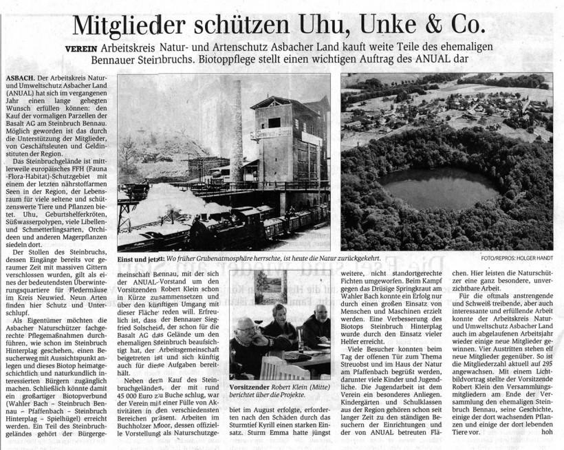 General-Anzeiger 28.3.2008