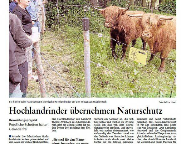 Rhein-Zeitung vom 15.6.2016