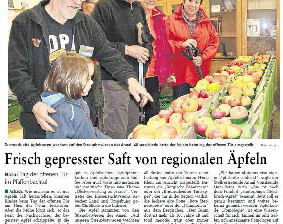 Rheinzeitung vom 10.10.2016