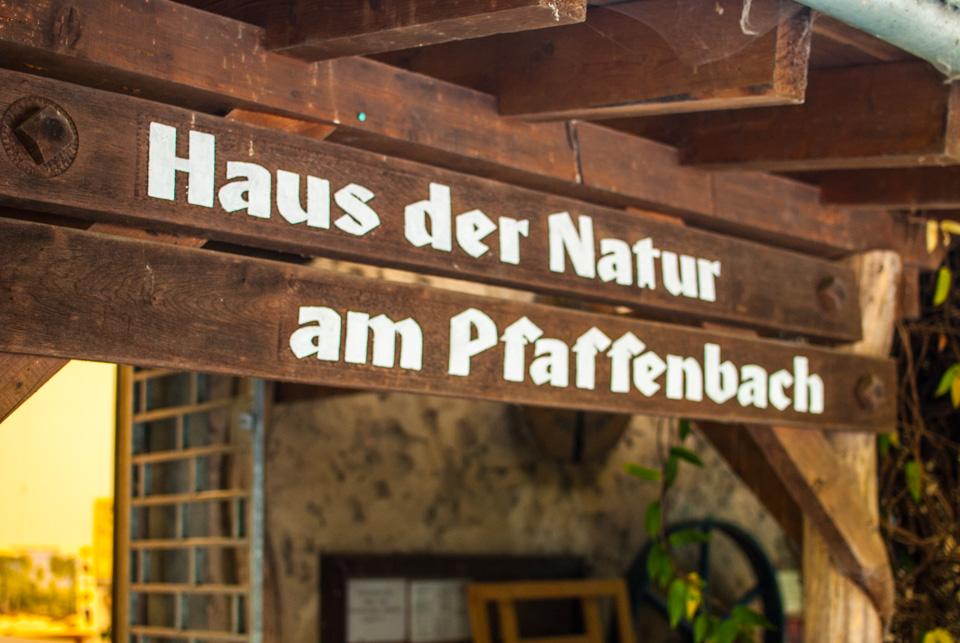Haus der Natur am Pfaffenbach