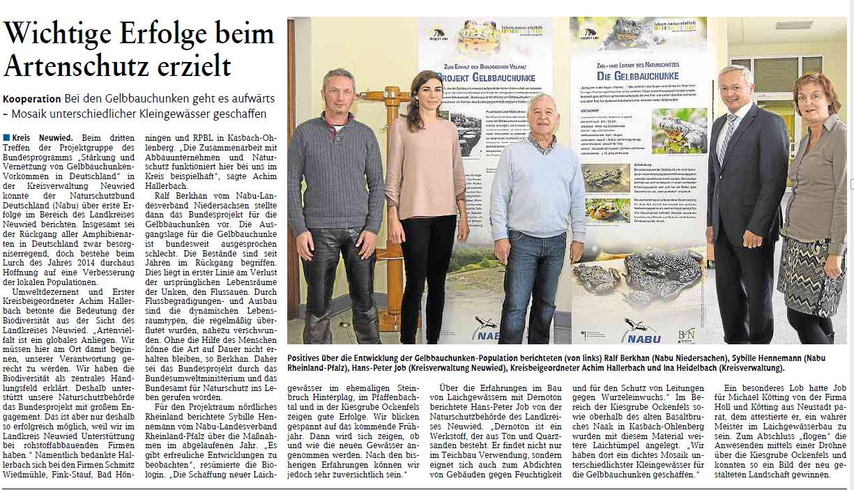 Rhein-Zeitung 18.3.2015