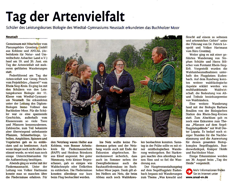 Rhein-Zeitung 17.7.2015