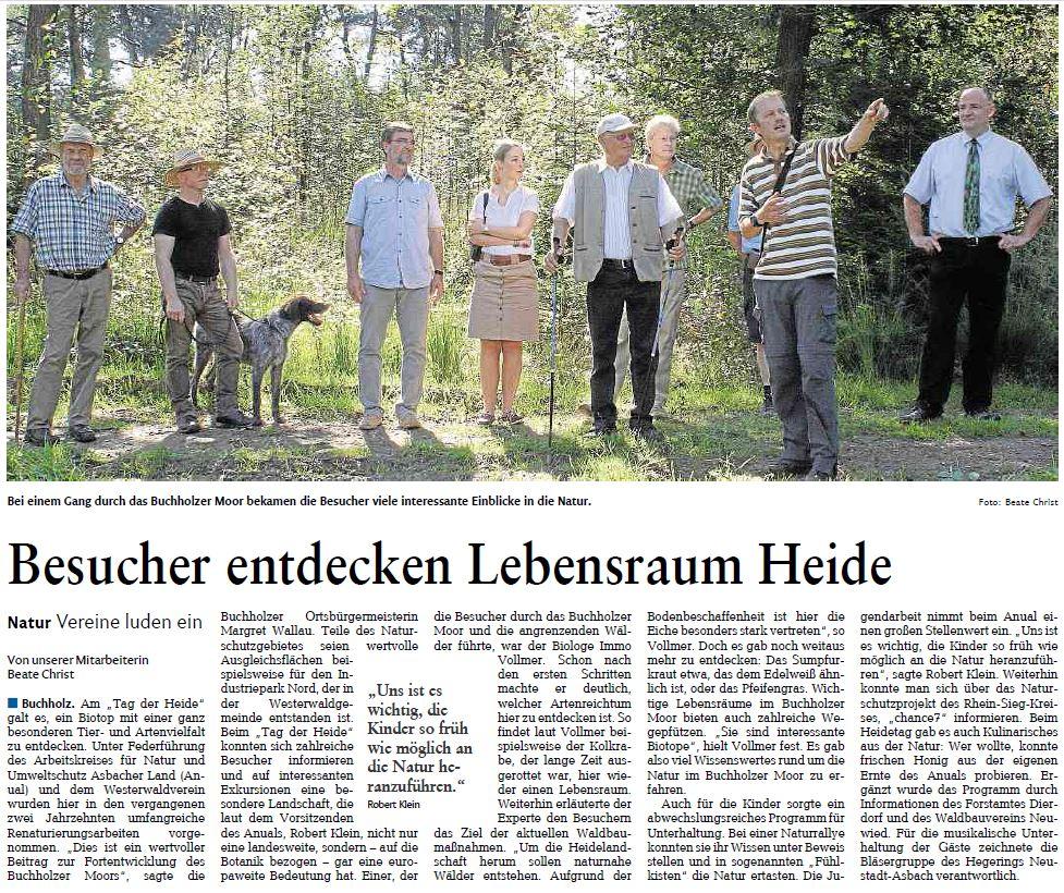 Rhein-Zeitung 1.9.2015