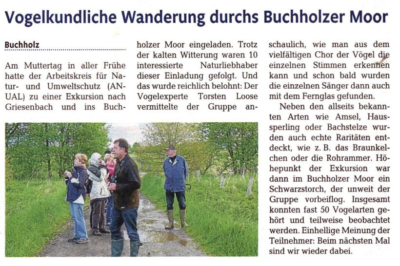 Rhein-Zeitung 23.04.2014