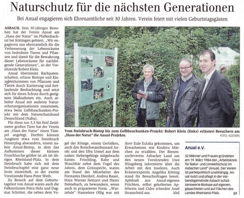 General-Anzeiger 2.7.2014