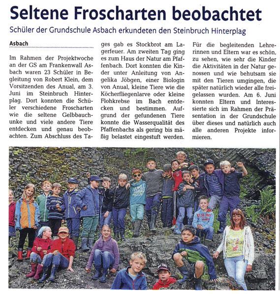 Rhein-Zeitung 11.07.2014