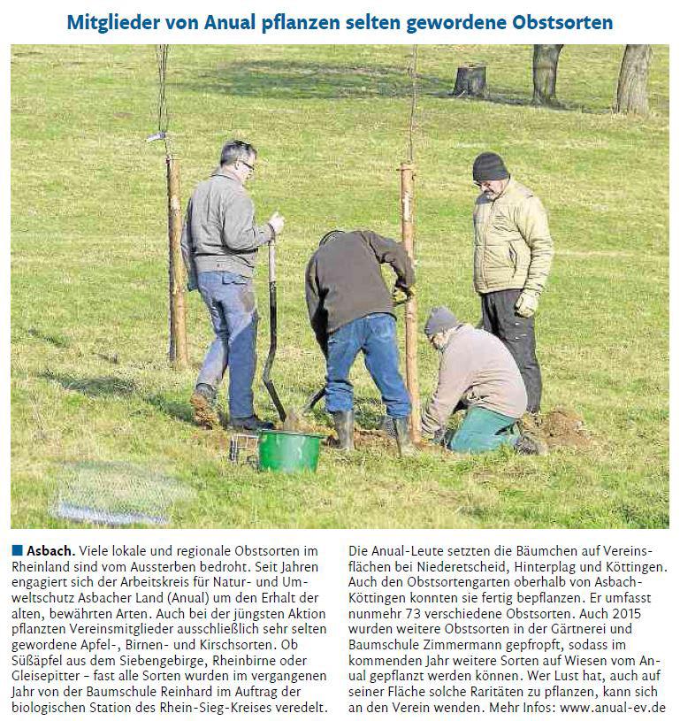 Rhein-Zeitung 5.3.2015