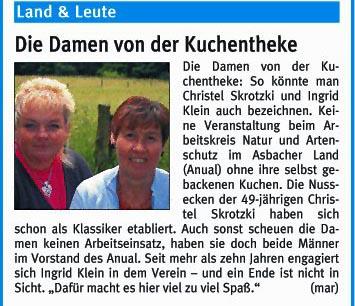 Rhein-Zeitung 5.7.2008