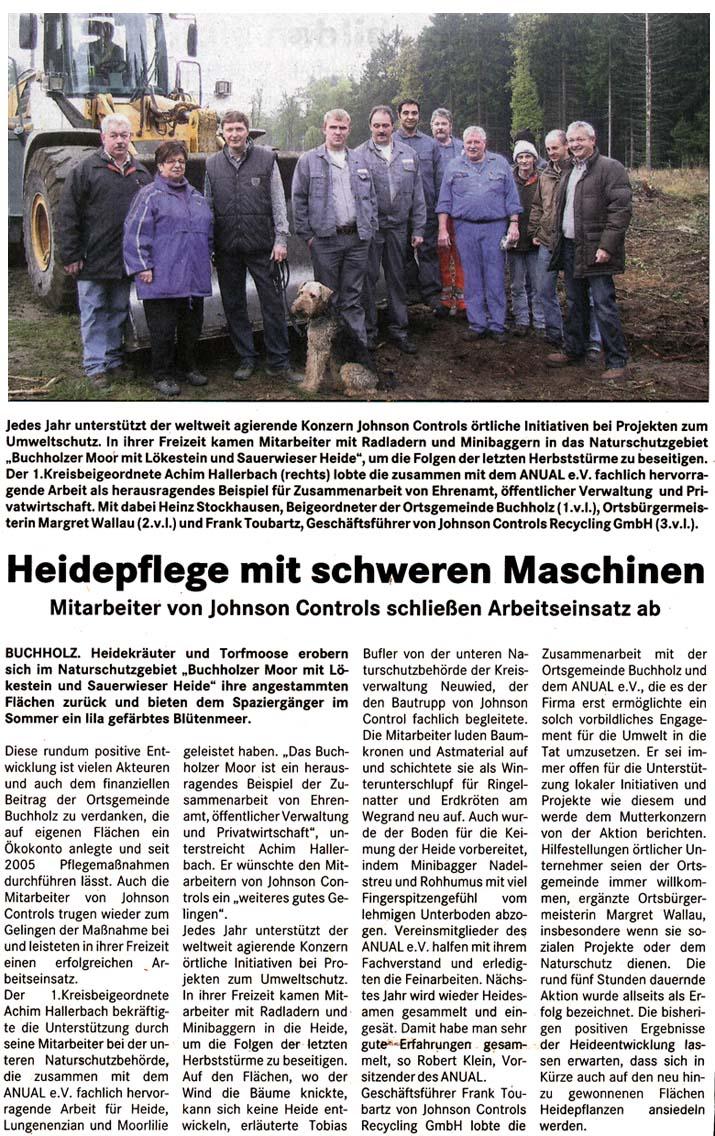 Lokalanzeiger 11.11.2009