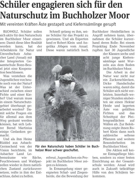 Rhein-Zeitung 16.12.2009