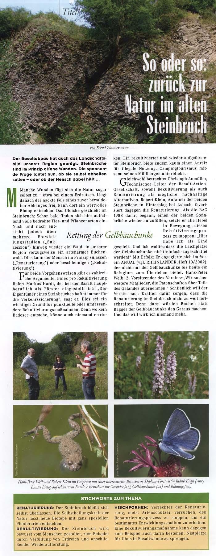 Der Rheinländer Heft 12 – August 2009