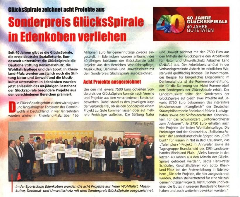 Lotto Glücksmagazin 4.5.2010 – Heft 18