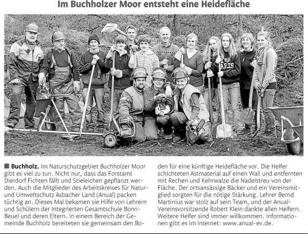 Rhein-Zeitung 12.11.2010