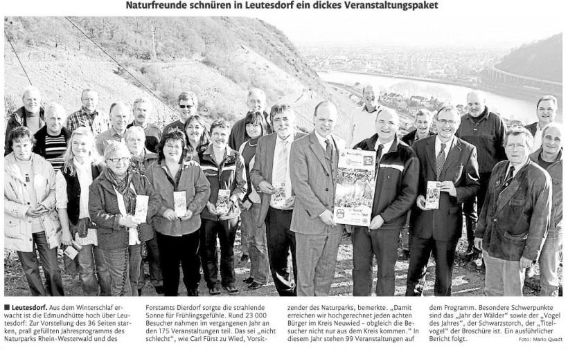 Rhein-Zeitung 9.2.2011