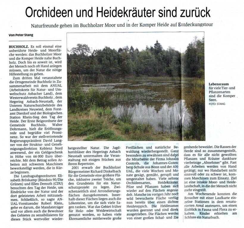 General-Anzeiger 14.9.2011