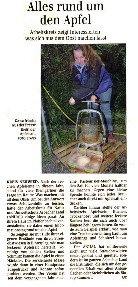 General-Anzeiger 13.10.2011