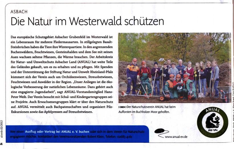 Alverde-Kundenmagazin DM-Markt 2/2012