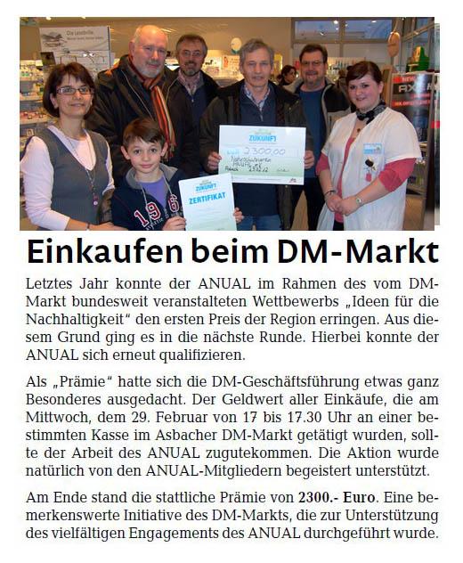 Rhein-Zeitung 24.03.2012