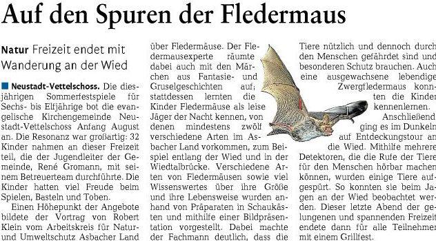 Rhein-Zeitung 23.08.2012